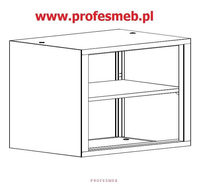szafy bez drzwirega�y zamknięte meble metalowebiurowe